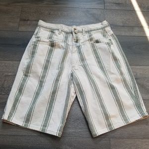 Other - 90s Marithe Francois Girbaud Striped Shorts